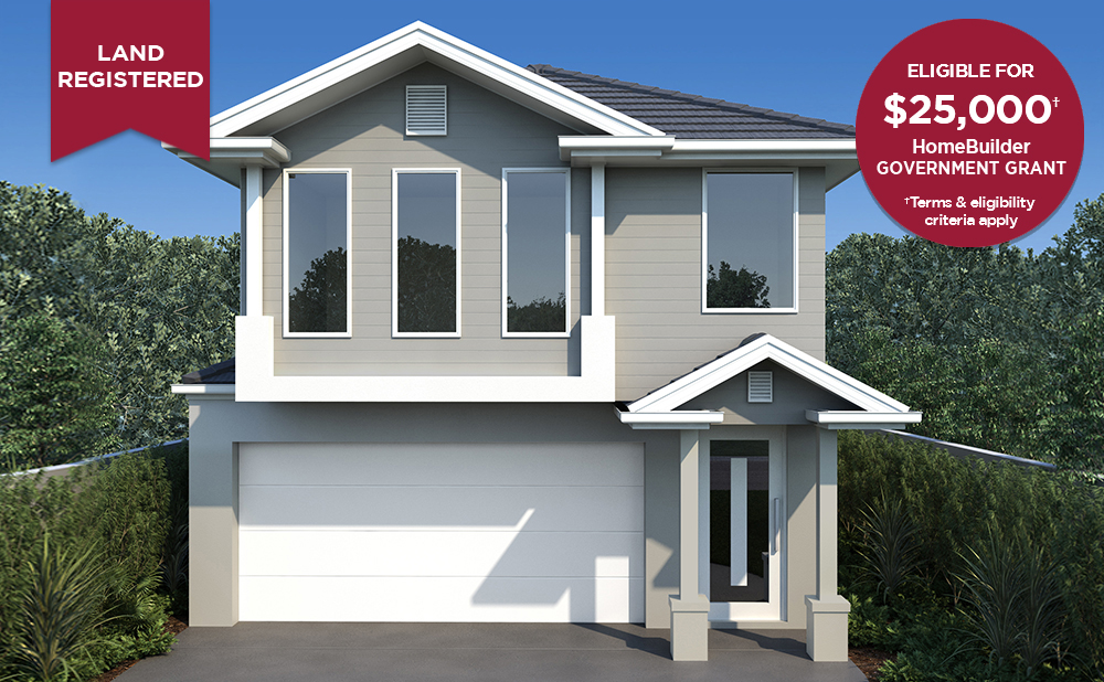 FACADE Lot 6083 Waterlily St Denham Court 1000 X 618 B