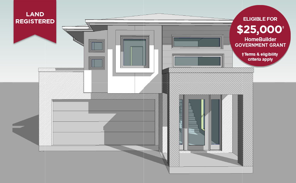 FACADE Lot 6086 Waterlily St Denham Court 1000 X 618 v2